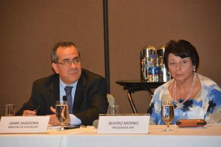 Sociedad Peruana de Hidrocarburos y Minedu apuestan por coordinar políticas de responsabilidad social en educación