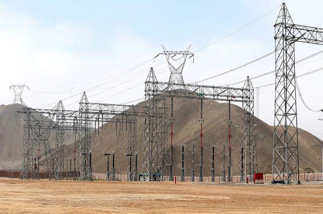 energía- torre de alta tensión
