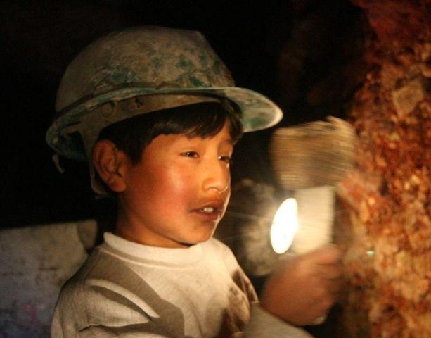 mineria infantil