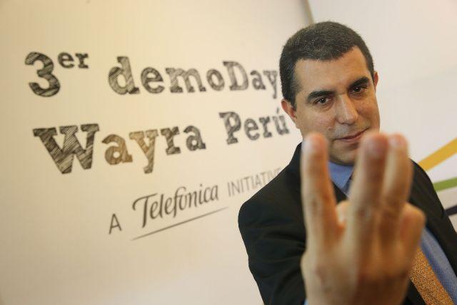 Álvaro Valdez, director de Comunicación, Imagen y Responsabilidad Corporativa de Telefónica del Perú. (Foto: Andina)