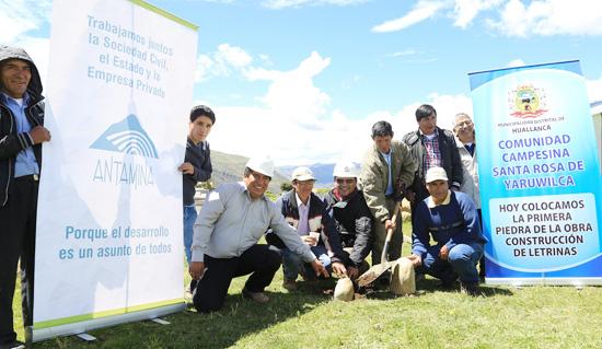 Comunidad Campesina de Yaruwilca en Huallanca inicia construcción de letrinas ecológicas