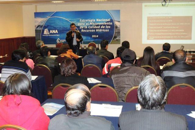 Estrategia para el mejoramiento de la calidad de los recursos hídricos en el Perú