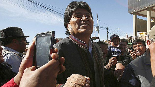 Evo Morales anuncia que Bolivia desarrolla energía nuclear con apoyo argentino. (Reuters)