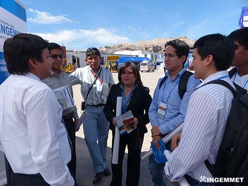 INGEMMET participa en el III Congreso Minero en Moquegua
