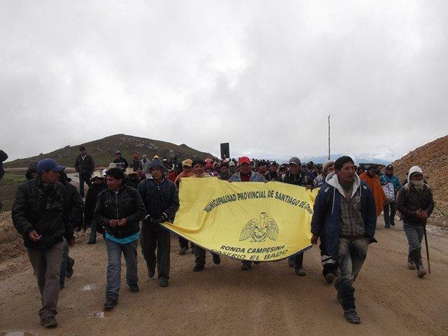 La suspensión se debe a que este 4 de junio han sido citados al Congreso de la República, donde expondrán los problemas de la minería informal y artesanal. (Foto: RPP)