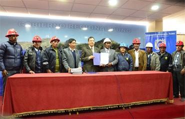 Nueve cooperativas mineras de Ananea lograron formalizarse (Foto: Los Andes)