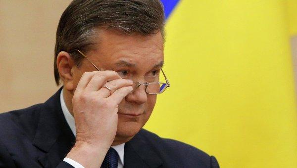 El depuesto presidente de Ucrania, Víktor Yanukóvich.