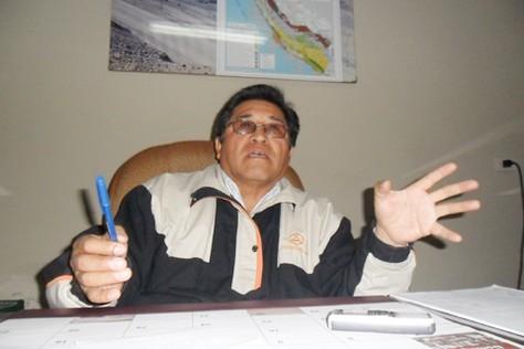 Marcelino Marca Flor, director regional de Energía y Minas en Tacna.