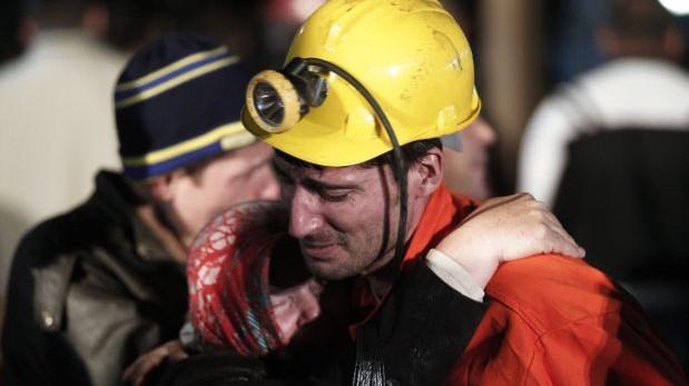Las tareas de rescate continúan en la mina de carbón de Manisa, en Turquía. (Reuters)