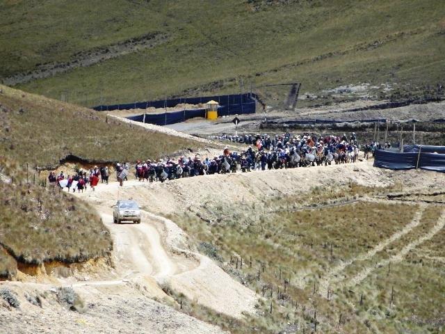 ndicó que exploración minera que se viene realizando es ilegal, ya que la comunidad no ha dado permiso para esta actividad (Foto: RPP).