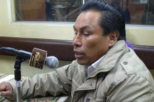 Américo Arizaca (Foto: Radio Pachamama)