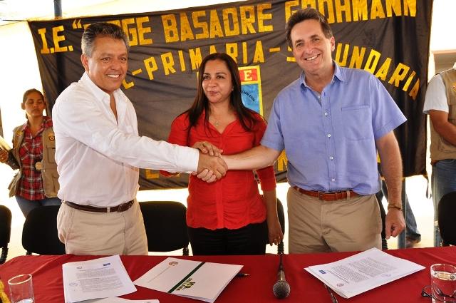 BCP y Municipalidad de Sullana ejecutarán proyecto de infraestructura educativa en beneficio de 850 escolares