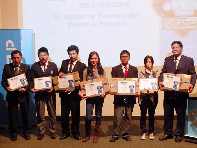 Concurso de ciencias TECSUP