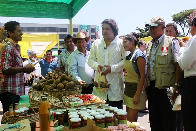 Festival Nacional de la Agrobiodiversidad en el Parque de la Exposición