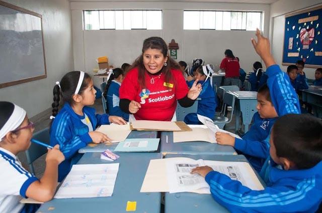 Voluntarios de Scotiabank, CrediScotia y Profuturo AFP imparten 40 talleres que mejorarán capacidades de escolares