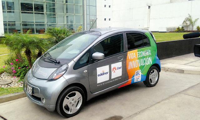 Ecológico. Este es el auto cuyo uso impulsa Mitsubishi.(Foto: La República)