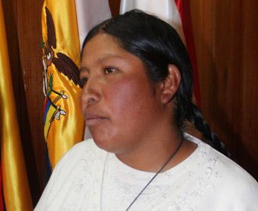 Nina Catacora. (Foto: Los Andes)