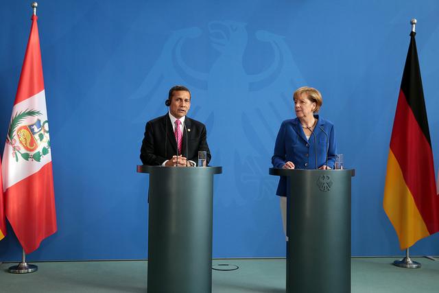 Humala Merkel