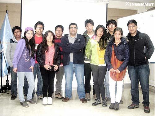 INGEMMET capacita a estudiantes del Cusco