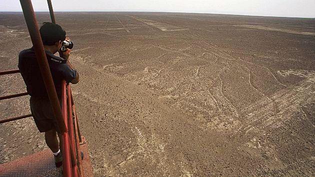Líneas de Nazca - mineria ilegal