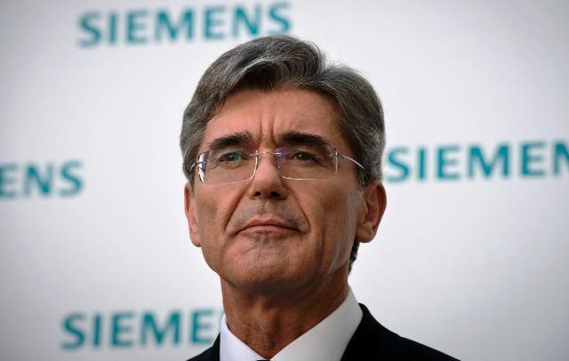 Joe Kaeser, presidente y CEO de Siemens.