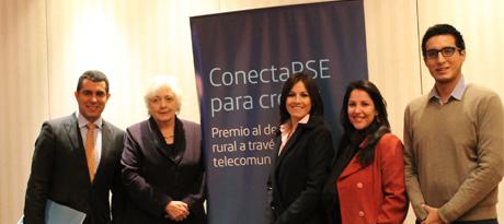 """presentación de la IV Edición del Premio """"ConectaRSE para Crecer"""""""