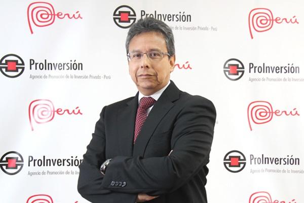 Carlos Herrera, director ejecutivo de Proinversión (Foto: Proinversión)