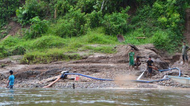 Hay 30 puntos de extracción en las cuencas de los ríos Santiago y Cenepa. (Foto: Wilfredo Sanfoval)