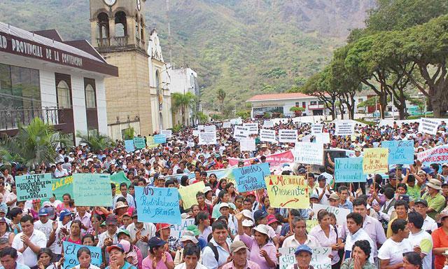 Contagio. La Convención y Espinar anuncian protestas. (Foto: La República)