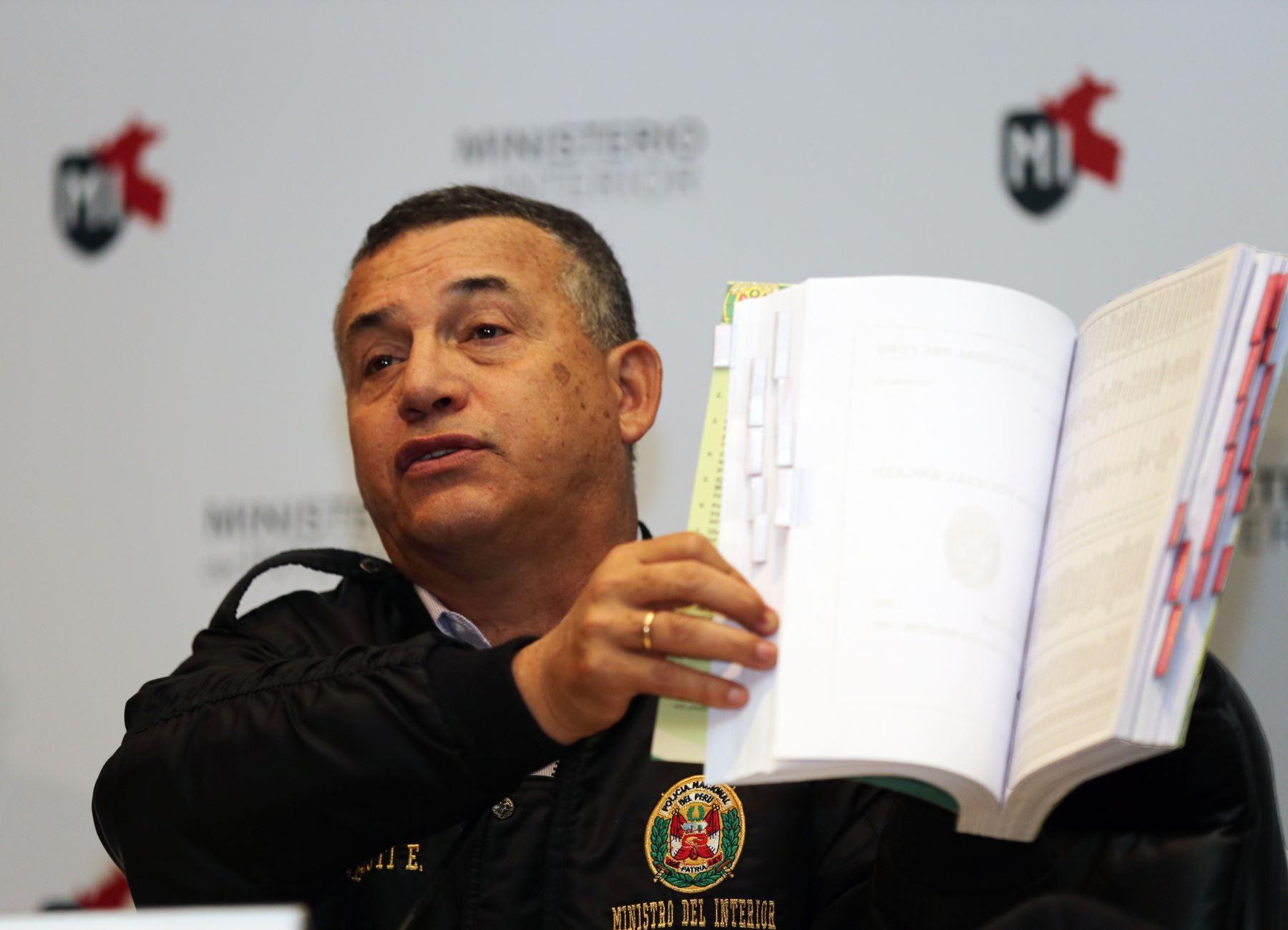 Indica ministro del Interior, Daniel Urresti (Foto: Andina)