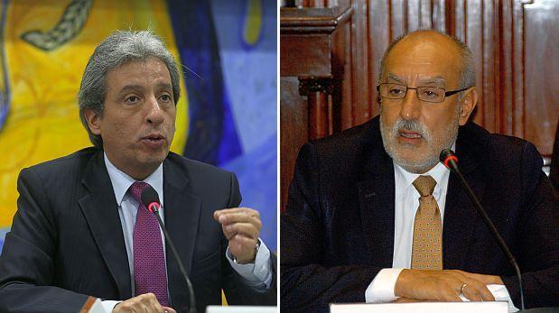 Correos filtrados de Cornejo revelan desavenencias entre ministros Pulgar-Vidal y Mayorga. (Fotos: El Comercio/ Congreso)