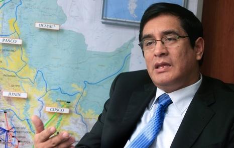 Viceministro de Energía, Edwin Quintanilla.