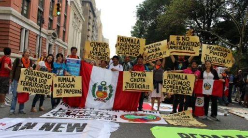 cumbre de los pueblos_cambio climático_cop20