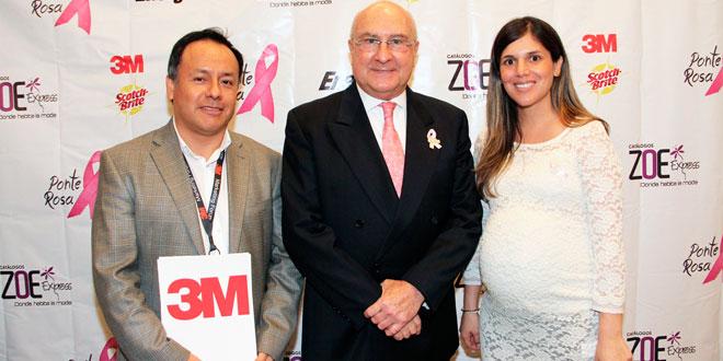 3M se une a la campaña de detección de cáncer de mama de la Liga Peruana contra el Cáncer