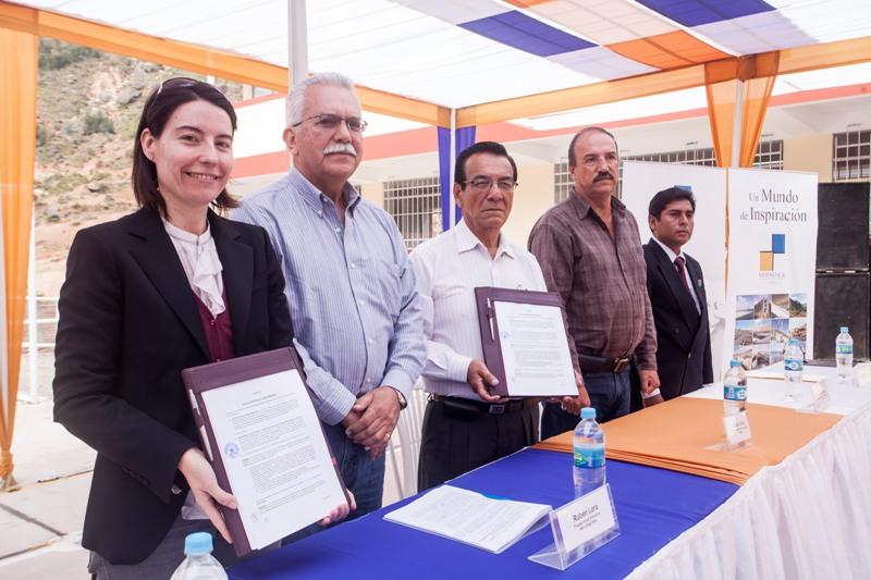 Hidromarañón y Mota-Engil Perú entregan moderna infraestructuraeducativa a Gobierno Regional de Huánuco