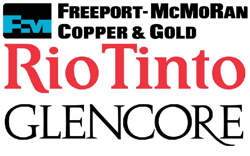 glencore rio y freeport