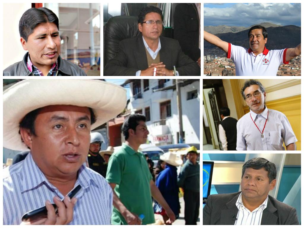presidentes regionales