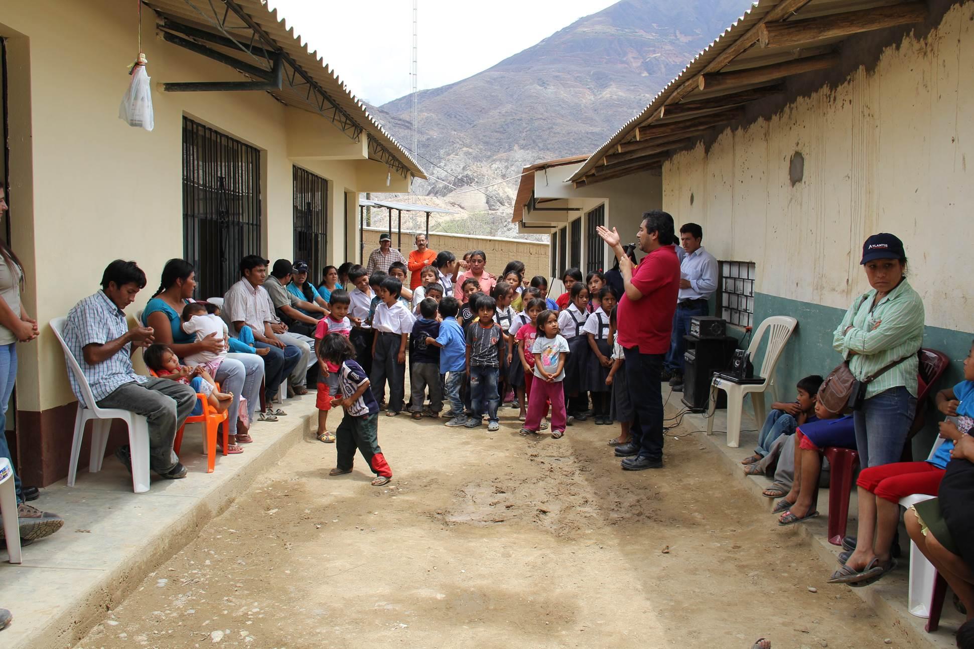 PODEROSA: Asociación Pataz inaugura primer Comedor Escolar en Pataz ...