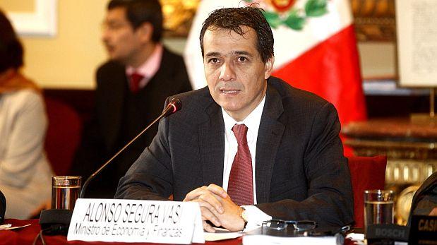 Alonso Segura, Ministro de Economía y Finanzas