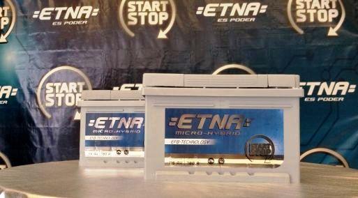 Baterías Etna lanza Batería Start Stop