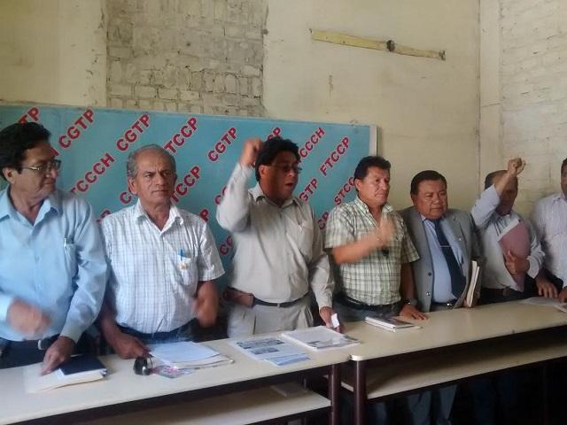 Lambayeque: CGTP se pronuncia sobre marcha a favor de Gregorio Santos (Créditos: RPP/ Rosario Coronado)