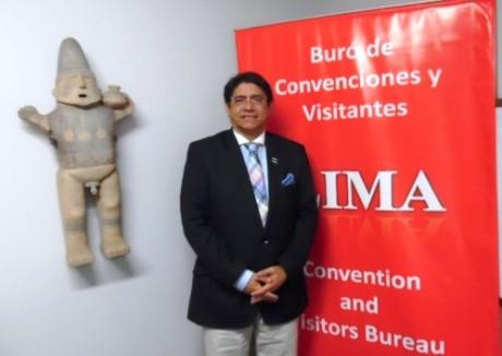 Carlos Canales, Presidente del Buró de Convenciones y Visitantes de Lima