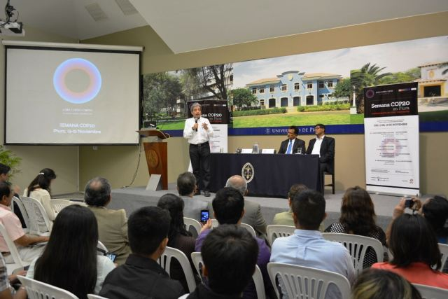 Ministro del Ambiente inaugura en la ciudad de Piura Semana COP20