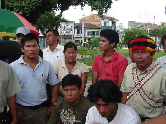 Nuevo Andoas suspende protesta en aeródromo de Pluspetrol Norte en Iquitos
