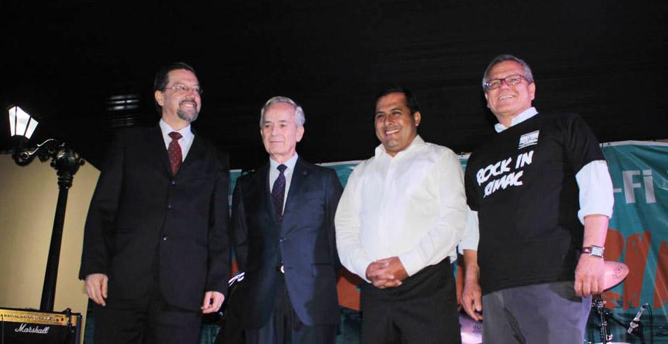 Telefónica y la Municipalidad del Rímac se unen para habilitar wifi libre en la Plazuela de Presa