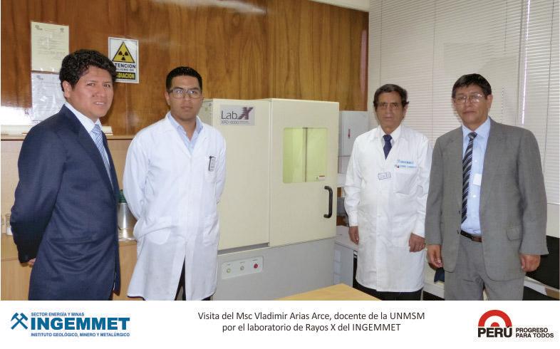 UNMSM busca desarrollar investigación en biolixiviación y geometalurgia