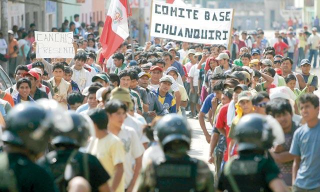 RIESGO. Como ocurrió a inicios de setiembre pasado, gremios podrían retomar protestas por incumplimiento de compromiso. (La República)