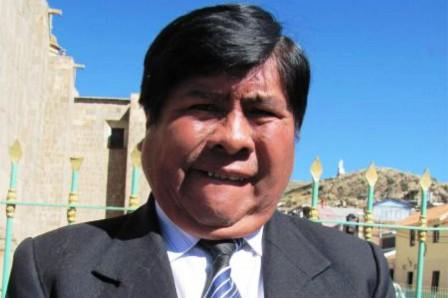 Juan Luque Mamani (Foto: Pachamama Radio)