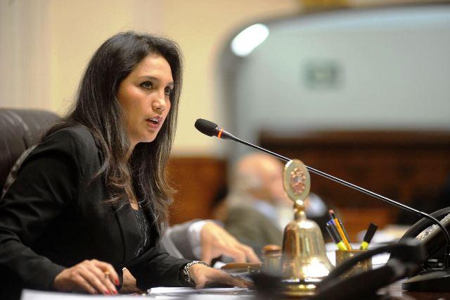 Ana María Solórzano (Foto: Andina)