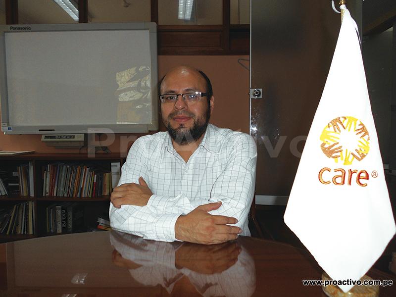 Omar Varillas, coordinador de diálogo en industrias extractivas de CARE